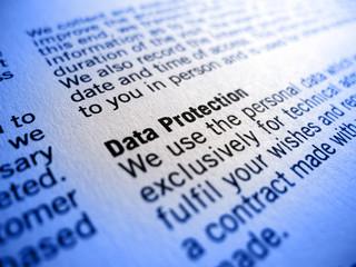 Datenschutz Data Protection