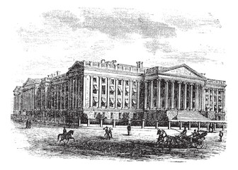 United States Department of the Treasury Building, in Washington