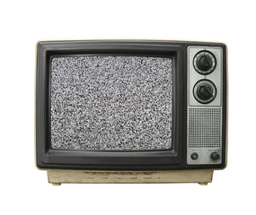 Grungy TV Static