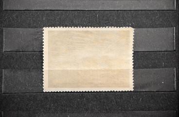 Postage stamp blank.