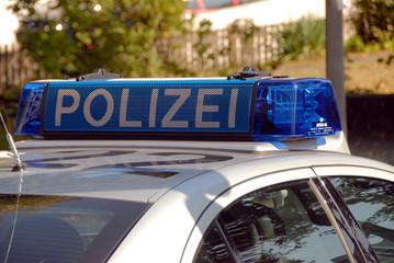 Polizei, Blaulicht, Peterwagen, Streifenwagen, Hamburg