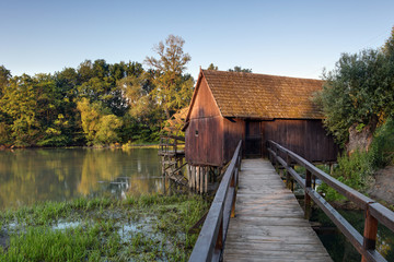 Spring landscepe with watermill - Slovakia