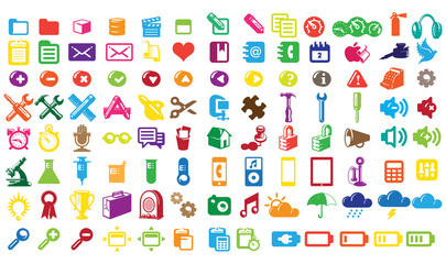 0201 Colorful Web Icons 1