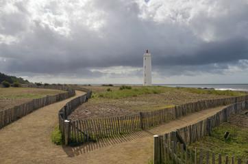 Lighthouse of Saint Gilles Croix de Vie in France
