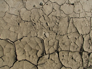 sunbaked ground