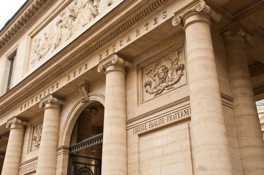 Université René Descartes à Paris