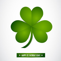Shamrock Leaf Vector