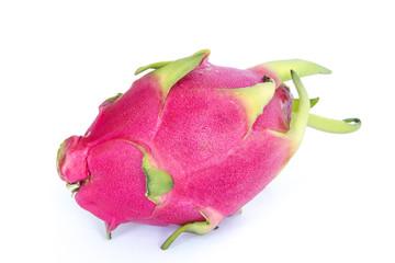 Fresh dragon fruit isolated