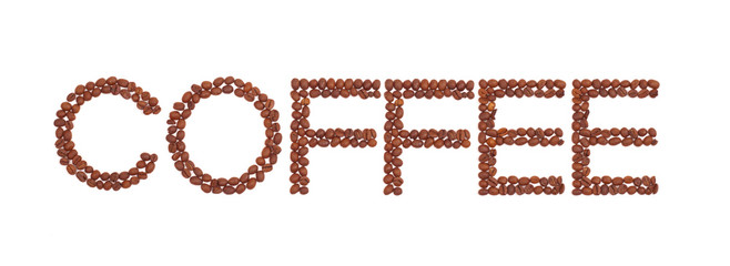 inscription of the coffee beans
