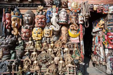 Art store, Nepal