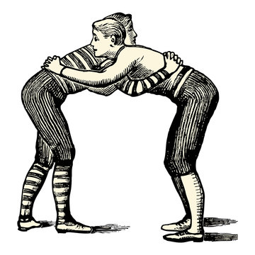 Les lutteurs