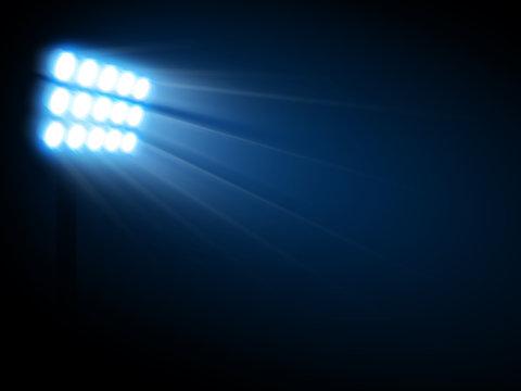 Lumières du stade