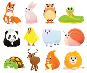 Cartoon animals. Part 1