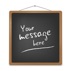 Vector blackboard for your message