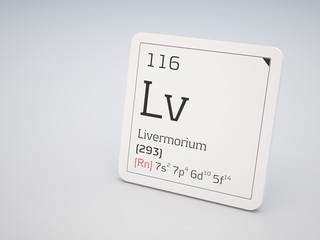Livermorium - element of the periodic table