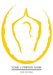 Fototapete - Yoga Logo 2