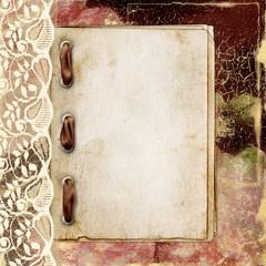 Elegant framework for invitation on the abstract background.
