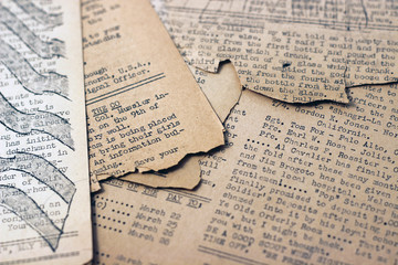 Vintage Newsprint 3