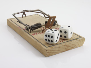 Mouse trap and dice