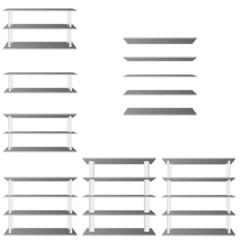 shelve for room decoration vector illustration