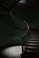 Printed roller blinds Stairs Klatka schodowa
