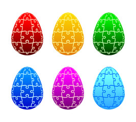 Easter eggs of the puzzle