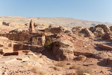 La cité antique de Petra, Jordanie.