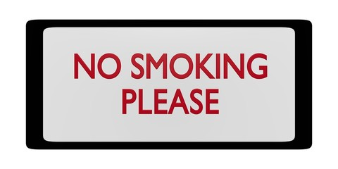 "Board ""no smoking"" 1.01"