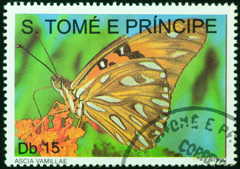 stamp printed by Sao Tome e Principe