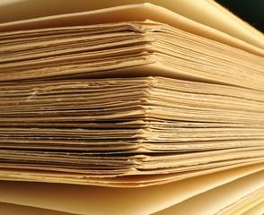 les coins de pages du livre