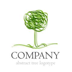Logo abstract tree # Vector