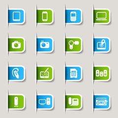 Label - Media Icons