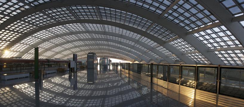 Train station of T3 beijing