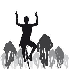 Silhouette_Cycliste_Sprint