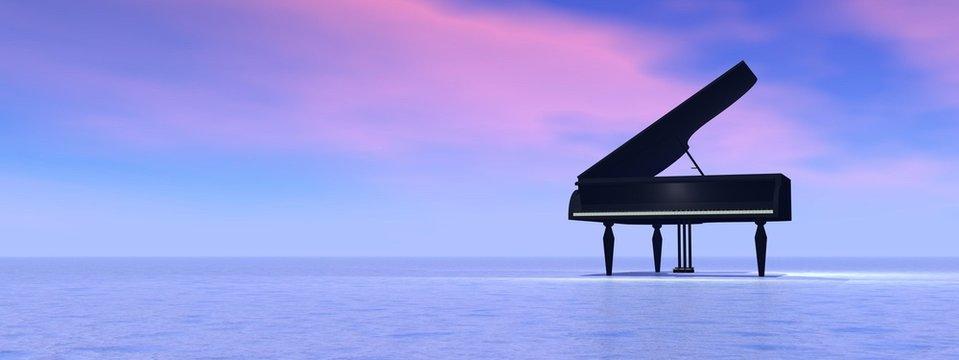 Dream of piano
