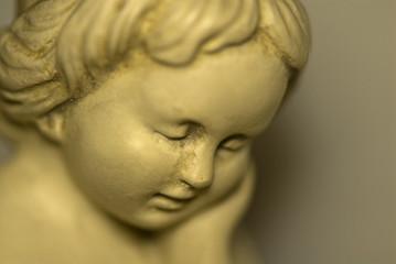 child's face - statue