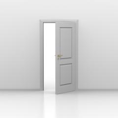 Tür offen 3d