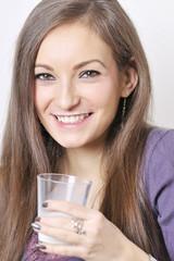Gesundes Glas Milch