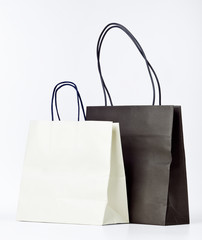 Two shopping bags.