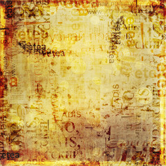 Fotobehang Kranten Grunge abstract background with old torn posters
