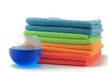 waschkugel mit wäsche
