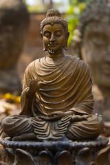 Buddha statue in Wat Umong