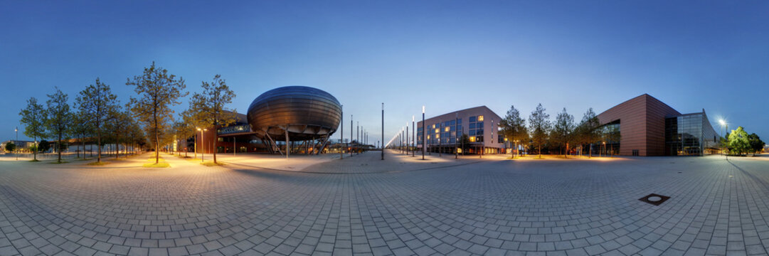 EXPO-Plaza Hanover. 360° Panorama.