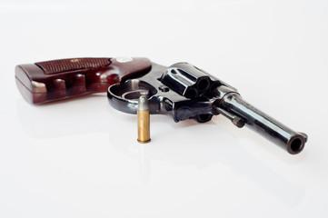 revolver hand gun