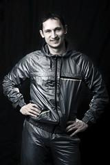 Handsome man in sportswear