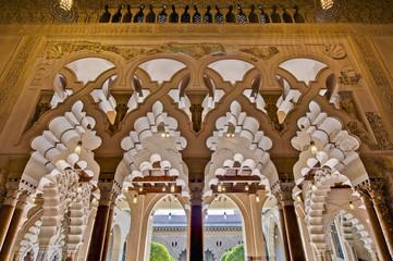 Aljaferia Palace at Zaragoza, Spain