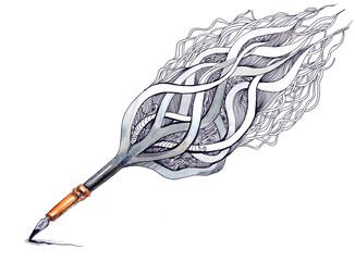 art ink pen