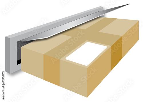 post briefkasten paket lieferung service stockfotos und lizenzfreie bilder auf. Black Bedroom Furniture Sets. Home Design Ideas