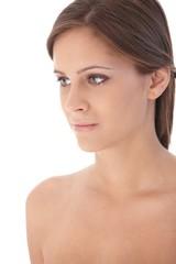 Portrait of attractive female
