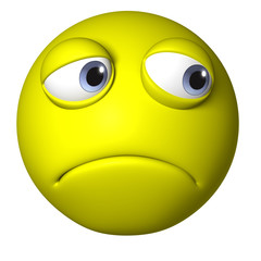 yellow emotion ball